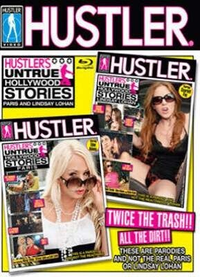 Hustler's Untrue Hollywood Stories Lindsay and Paris Double Feature