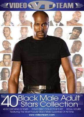 Top 40 Black Male Adult Stars Collectoin