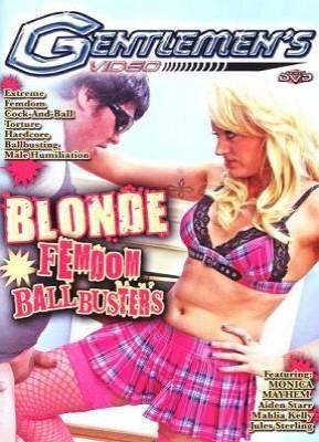 Blonde Femdom BallBusters