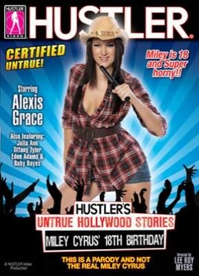 Hustler's Untrue Hollywood Stories Miley Cyrus' 18th Birthday