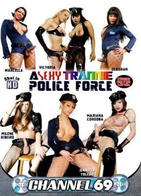 A Sexy Trannie Police Force