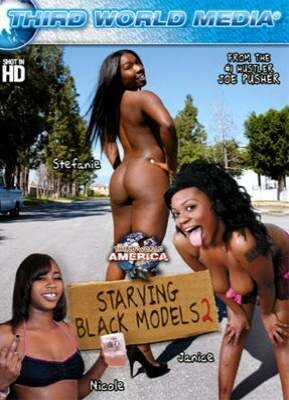Starving Black Model 2