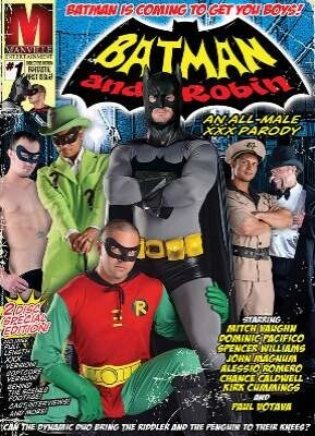 Batman And Robin An All Male Xxx Parody