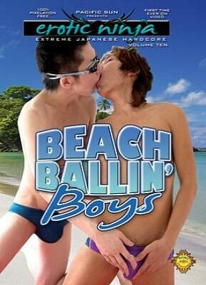 Erotic Ninja 10  Beach Balling Boys