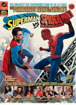 Superman Vs Spider Man Xxx An Axel Braun Parody