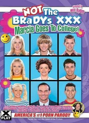 Not The Bradys XXX Marcia Goes to College