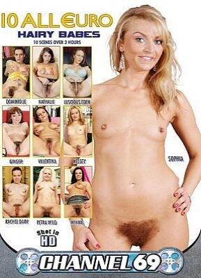 10 All Euro Hairy Babes