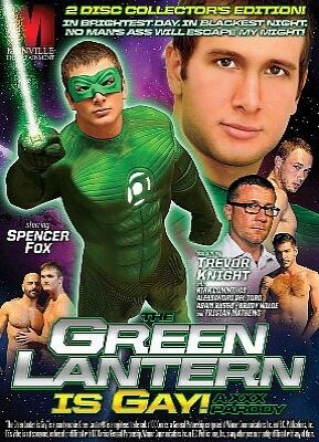 The Green Lantern Is Gay