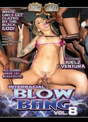 Interracial Blow Bang 8