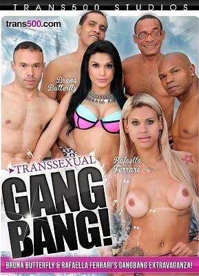 Transsexual Gang Bang!