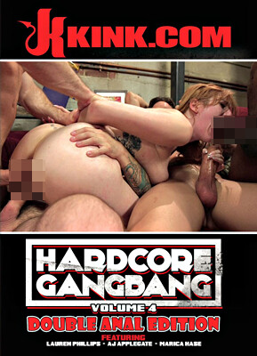 Hardcore Gangbang, Volume 4: Double Anal Edition