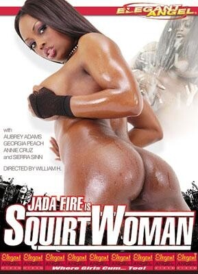 Jada Fire is Squirtwoman