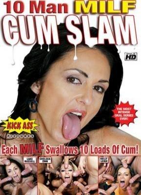10 Man MILF Cum Slam