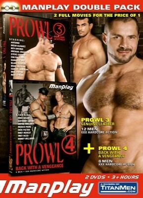 ManPlay Double Pack - Prowl 3 and Prowl 4