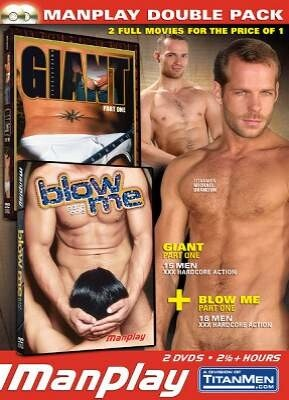 ManPlay Double Pack - Giant 1 and Blow Me 1