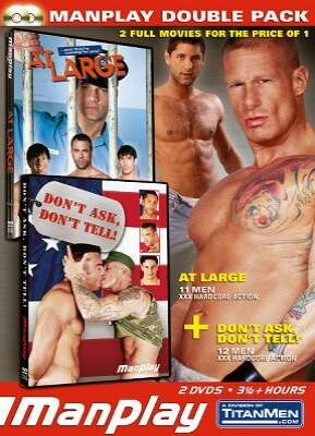 Manplay Double Pack - At Large and Don't Ask - Don't Tell